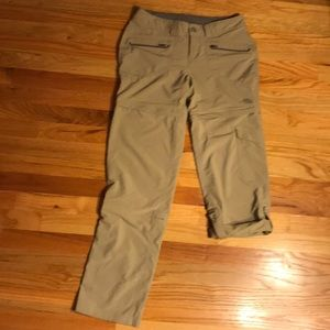 North Face convertible pants.